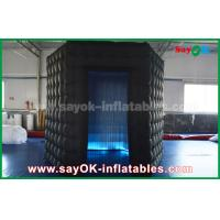 Buy cheap 1 Door Diamond Oxford Cloth Inflatable Led Cube Photo Booth For Trade Show from wholesalers