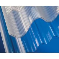Buy cheap Polycarbonate Corrugated Sheet / Plastic Roofing Panel / Transparent Roof Tile from wholesalers
