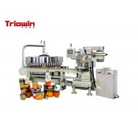 China Metal Beverage Can Filling Line Canned Fruit Production Line CE Certification on sale