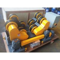 Quality 20T 30T Pipe Rollers For Welding , Self Aligning Heavy Duty Pipe Roller Stands for sale