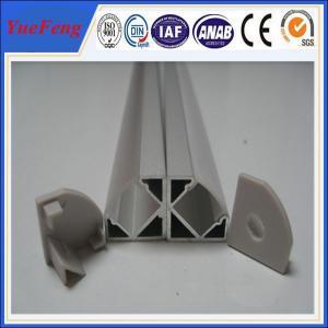 Quality Aluminum price per kg,aluminium led profile,led aluminium extrusion with diffuser cover for sale