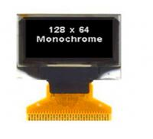 Buy cheap 3.3V Operating 1.3 OLED Display 128x64 LED Blue Backlight Passive Matrix from wholesalers