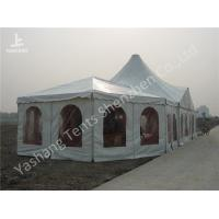 Buy cheap Combined A Frame And High Peak Pagoda Wedding Marquee Tents Hard Aluminum Alloy Frame from wholesalers