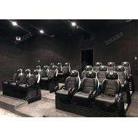 Quality Flat / Arc / Globular Screen 9D Movie Theater With Electric Motion Chair for sale