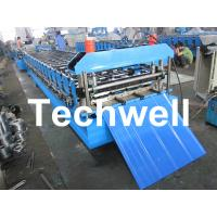 Quality Metal Automatical Roof Panel Cold Roll Forming Machine with 0 - 15 m/min Speed for sale