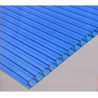 Quality Heat Insulation Light Weight multiwall Polycarbonate Hollow Sheet For Skylight for sale