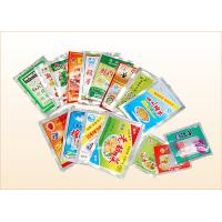 Quality Three Side Seal Light Printed Colorful PE / BOPP Plastic Food Packages and Snack Bag for sale