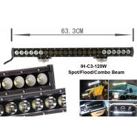 Quality 120w Led Work Lamps Combo Beam Light Bar Single Row 12000lm for sale