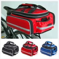 Quality Rear Rack Bike Trunk Bag Double Side , Hand Luggage Bags For Short Trip Vehicle Carrying for sale