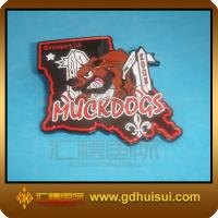 Quality cheap custom iron cotton badge for sale