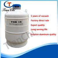 Quality Cryogenic hospital liquid nitrogen container 15L freezing equipment of cell and samples for sale