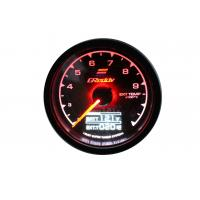 Quality Gauge Water Temp Gauge 7 Light Colors LCD Display With Voltage Meter 62 MM for sale