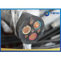 Quality Black High Precision Rubber Sheathed Cable Rubber Flexible Cable For Mining for sale