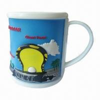 Quality Mug Cup, Made of Silicone, Customized Designs, Sizes and Logos are Welcome for sale