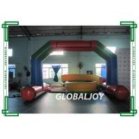 Quality Logo Printed Advertising Inflatables , 6 x 3M Inflatable Entrance Arch For Advertising for sale