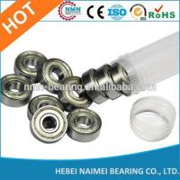 China High precision carbon steel 625zz deep groove ball bearing/bearing 626zz for sliding window on sale