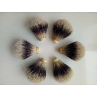 Quality Bulb Shape Handcrafted Shaving Brush Knots / Badger Brush Knots for sale