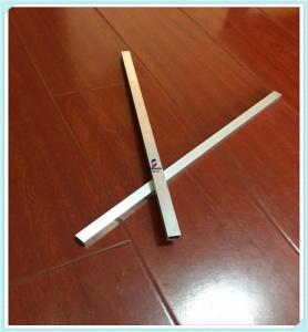 Quality Square Hollow Aluminium Tube Profiles , Custom Aluminum Moulding Profiles for sale