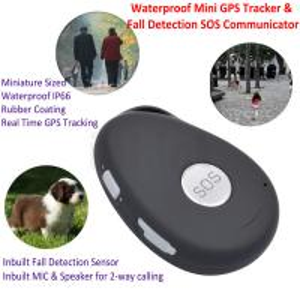 Quality Mini Waterproof 3G GSM Personal GPS Tracker Locator Elderly Fall Detection SOS Communicator Alzheimer Keyring EV07 for sale