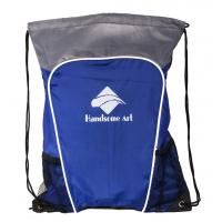 Quality Fashional Style Drawstring Bags with Phone Pocket for Promotional-HAD14025 for sale