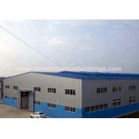 Fast Construction Prefabricated Steel Warehouse Safety Lightweight Steel Structures for sale
