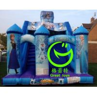 Quality Best selling inflatable frozen slide with 24months warranty GT-SAR-1641 for sale