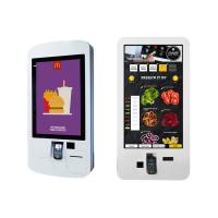 Quality 32'' Interactive Digital Signage , Restaurant Digital Signage With QR Code Scanner for sale