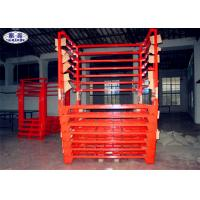 Buy cheap Truck Tyre Storage Rack Pallet Heavy Duty Metal Steel Fixed / Removable from wholesalers