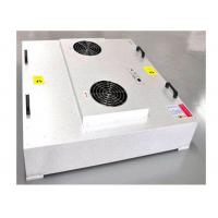 Quality GMP Workshop Large Air Volume HEPA Filter Unit Powered EBM Fan for sale