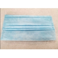Quality One Time Disposable 3 Ply Civilian Non Woven Fabric Earloop Mask for sale