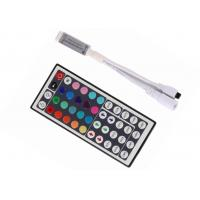 Quality Mini IR Remote RGB LED Strip Controller 72W 44Keys SMD 5050 Smooth Change for sale