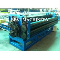 Quality 0.15mm Steel Horizontal Roofing Corrugated Sheet Roll Forming Machine Hydraulic Type for sale