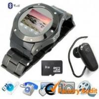Buy W968 Traditional Quadband Wrist Watch Phone With Bluetooth, Fm Radio Supports at wholesale prices