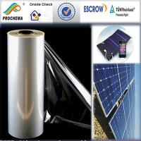 Quality ETFE solar cell film , solar cell front sheet film for sale