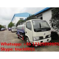 Quality hot sale dongfeng 3300mm 5cbm water tank for export, factory sale export water tank for sale