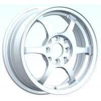 Quality Polish Sliver 15 Inch Alloy Wheels With Machine Cut Lip for sale
