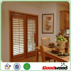 Quality Decorative Adjustable Louver Window Plantation Basswood Shutter for sale