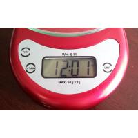 Buy Cooking Measuring Home Electronic Scale Selectable Color With Over Load at wholesale prices
