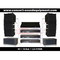 480W Line Array Speaker Sound System ,With1.4+2x10 Neodymium Drivers And Built-in Crossover for sale