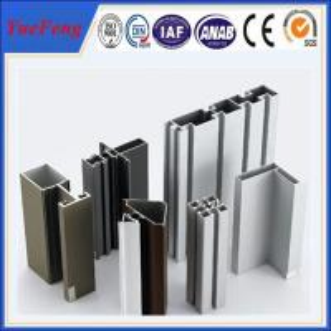Quality Aluminium window and door frame estruded profiles,aluminium profile for glass roof for sale