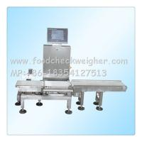Quality automatic in-line check weigher for chemicals ,weight checker machine rejection for sale