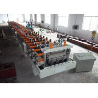 Quality SGS Decking Floor Sheet Roll Forming Machine Hydraulic Cutting Type for sale