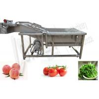 China Commercial Vegetable Washing Machine Price|Fruit Washer Machine Low Price on sale