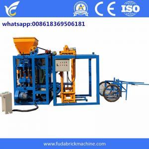 China Trade assurance cabro block making machine color paver brick machine line on sale