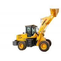 Quality Full Hydraulic Wheel Loader , 2400 Kg 2500kg Small Front Loader Heavy Equipment for sale