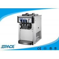 Buy cheap Small Table Top Commercial Ice Cream Machine With Low Noise Twin Twist Flavor from wholesalers