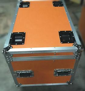 Quality Aluminum Frame Rack Flight Case , Durable Storage Trunk Flight Case for sale