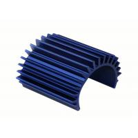 China Round Aluminum Extrusion Heat Sink T3 - T8 Temper Shape Angle on sale