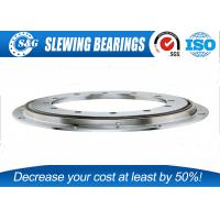 China S&G Flange Type precision Turntable Bearings with a large diameter and lighter weight on sale