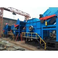 Quality Vertical Industrial Scrap Metal / Rubber Crushing Machine Low Energy for sale